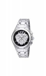 [テクノマリーン]TechnoMarine  Manta Neo Classic Quartz Black, Silver Dial Watch TM-215009