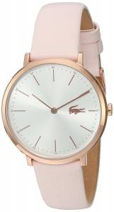 [ラコステ]Lacoste  Quartz Gold and Leather Automatic Watch, Color:Pink 2000948 レディース