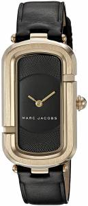 [マーク ジェイコブス]Marc Jacobs The Jacobs Black Leather Analog Quartz Casual Watch MJ1484