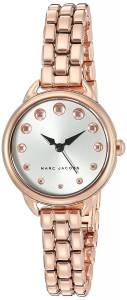 [マーク ジェイコブス]Marc Jacobs  Betty Rose GoldTone Analog Quartz Casual Watch MJ3496