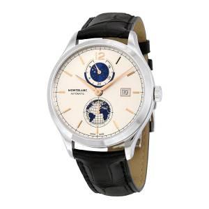 [モンブラン]MONTBLANC 腕時計 Heritage Chronometrie Dual Time Watch 113779 メンズ