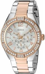 [ゲス]GUESS  Quartz Stainless Steel Automatic Watch, Color:Two Tone U0729L4 レディース