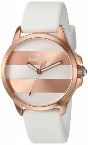 [ジューシークチュール]Juicy Couture  Jetsetter Quartz Gold and Silicone Quartz 1901346