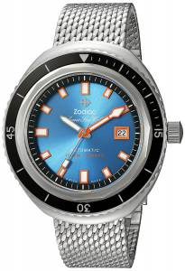 [ゾディアック]Zodiac 'Super Seawolf 68 Extreme' Swiss Automatic Stainless Steel Casual ZO9502