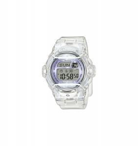 [カシオ]Casio BabyG BG169R7E Face Protector IonPlated Metal White Purple Watch Digital BG169G-7E