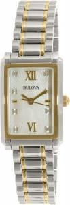 [ブローバ]Bulova 腕時計 Silver StainlessSteel Quartz Watch 98S144 レディース