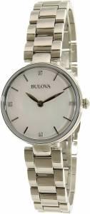 [ブローバ]Bulova 腕時計 Silver StainlessSteel Quartz Watch 96S159 レディース