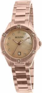 [ブローバ]Bulova 腕時計 Rose Gold StainlessSteel Quartz Watch 97W101 レディース
