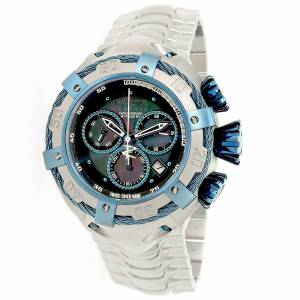 [インヴィクタ]Invicta  Bolt Steel Bracelet & Case Swiss Quartz Blue Dial Analog Watch 21343