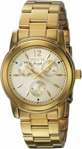 [インヴィクタ]Invicta  'Angel' Quartz Stainless Steel Casual Watch, Color:GoldToned 21691