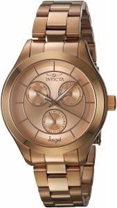 [インヴィクタ]Invicta  'Angel' Quartz Stainless Steel Casual Watch, Color:Rose 21695