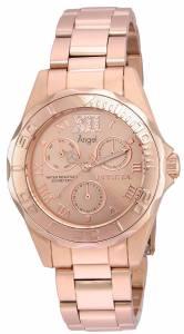 [インヴィクタ]Invicta  'Angel' Quartz Stainless Steel Casual Watch, Color:Rose 21698