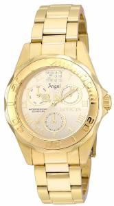 [インヴィクタ]Invicta  Angel Quartz Chronograph Gold Dial Watch 21697 レディース