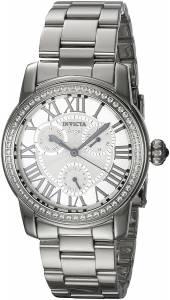 [インヴィクタ]Invicta  Angel Steel Bracelet & Case Quartz SilverTone Dial Analog Watch 21705