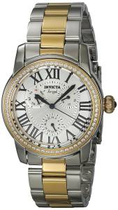 [インヴィクタ]Invicta Angel GoldTone Steel Bracelet & Case Quartz SilverTone Dial Analog 21707