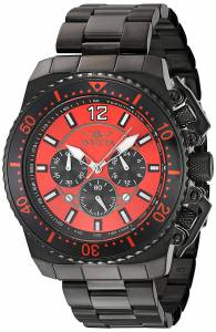 [インヴィクタ]Invicta  'Pro Diver' Quartz Stainless Steel Casual Watch, Color:Black 21958