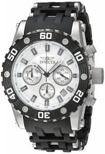 [インヴィクタ]Invicta Sea Spider Black Polyurethane Band Steel Case Swiss Quartz 22089