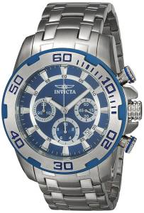 [インヴィクタ]Invicta  Pro Diver Steel Bracelet & Case Quartz Blue Dial Analog Watch 22319