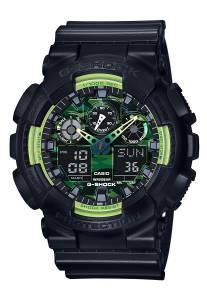 [カシオ]Casio 腕時計 GShock GA100 Sporty Illumi Series Watches Black / One Size GA100LY-1A