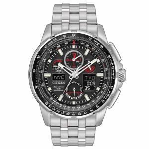 [シチズン]Citizen  EcoDrive MenÕs SKYHAWK AT World Time Analog/Digital Watch JY8050-51E