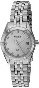 [シチズン]Citizen  Quartz Stainless Steel Watch, Color:SilverToned EU6050-59D レディース