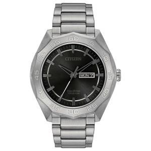[シチズン]Citizen 腕時計 EcoDrive Titanium Watch w/ DayDate AW0060-54H メンズ [逆輸入]