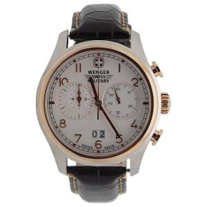 [ウェンガー]Wenger 腕時計 Swiss Army Rose Gold Zermat Chronograph Watch 79020