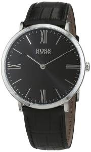 [ヒューゴボス]Hugo Boss  Jackson Steel Strap Watch Quartz BlackDial 1513369 7613272211819