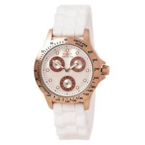 [インヴィクタ]Invicta 腕時計 Lady's MOP Dial White Strap Watch 21995 [並行輸入品]