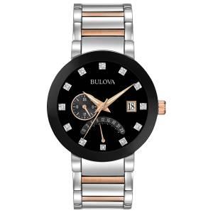 [ブローバ]Bulova 腕時計 Quartz Stainless Steel Dress Watch, Color:Two Tone 98D129 メンズ