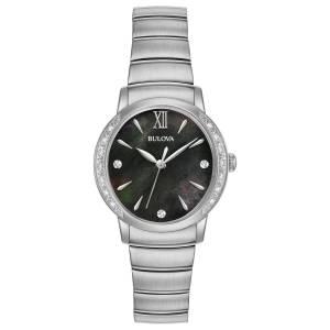 [ブローバ]Bulova  Quartz Stainless Steel Dress Watch, Color:SilverToned 96R213 レディース