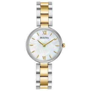 [ブローバ]Bulova  Quartz Stainless Steel Dress Watch, Color:Two Tone 98L226 レディース