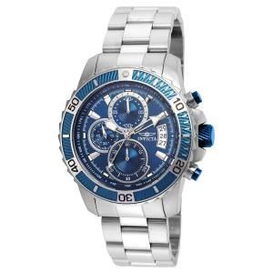 [インヴィクタ]Invicta  Pro Diver Steel Bracelet & Case Quartz Blue Dial Analog Watch 22413