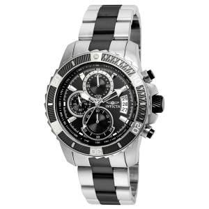 [インヴィクタ]Invicta  Pro Diver Black Steel Bracelet & Case Quartz Analog Watch 22416