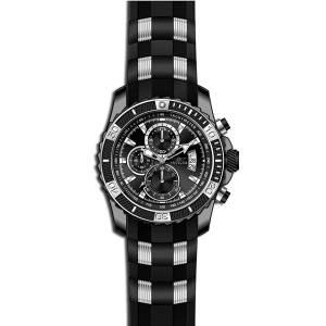 [インヴィクタ]Invicta  TI22 Black Polyurethane Band Titanium Case Quartz Analog Watch 22455