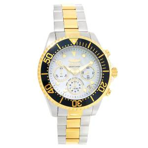 [インヴィクタ]Invicta  Grand Diver MOP Dial Two Tone Bracelet Chronograph Dive Watch 22038