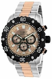 [インヴィクタ]Invicta  'Pro Diver' Quartz Stainless Steel Casual Watch, Color:Two Tone 22520