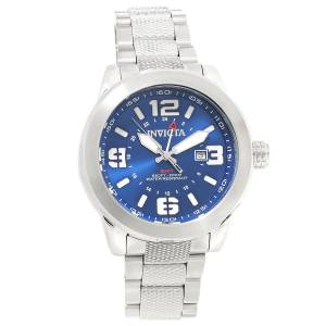 [インヴィクタ]Invicta Coalition Forces Quartz GMT Blue Dial Stainless Steel Bracelet 90275