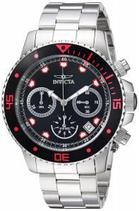[インヴィクタ]Invicta 'Pro Diver' Quartz Stainless Steel Casual Watch, Color:SilverToned 21885