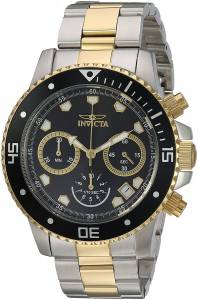 [インヴィクタ]Invicta  'Pro Diver' Quartz Stainless Steel Diving Watch, Color:Two Tone 21891