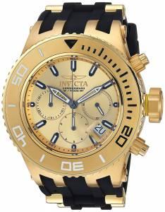 [インヴィクタ]Invicta  'Subaqua' Quartz GoldTone and Stainless Steel Casual Watch, 22365