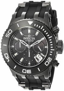 [インヴィクタ]Invicta  'Subaqua' Quartz Stainless Steel Casual Watch, Color:Black 22367