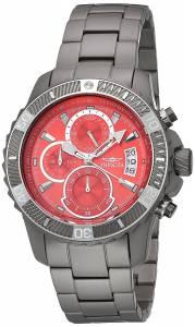 [インヴィクタ]Invicta  'TI22' Quartz Titanium Dress Watch, Color:Grey 22462 メンズ