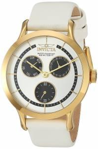[インヴィクタ]Invicta  'Angel' Quartz Stainless Steel and Leather Casual Watch, 22496