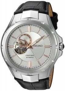 [セイコー]Seiko Watches Seiko Japanese Automatic Stainless Steel and Leather Casual SSA313