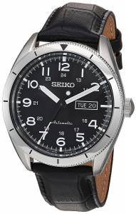 [セイコー]Seiko Watches Seiko Japanese Automatic Stainless Steel and Leather Casual SRP715