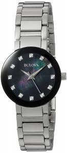 [ブローバ]Bulova  Quartz Stainless Steel Casual Watch, Color:SilverToned 96P172 レディース