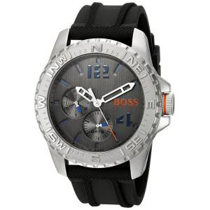 [ヒューゴボス]HUGO BOSS BOSS Orange 'REYKJAVIK' Quartz Stainless Steel and Rubber 1513412