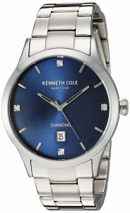 [ケネスコール]Kenneth Cole New York  'Diamond' Quartz Stainless Steel Dress Watch, 10030778
