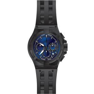 [インヴィクタ]Invicta Akula Black Polyurethane Band Steel Case Swiss Quartz Blue Dial 22373